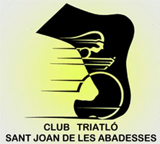Logotip Club Triatló Sant Joan Abadesses
