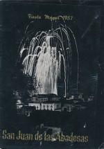 1957 PROGRAMA FESTA MAJOR