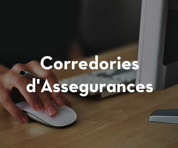 Corredories d'assegurances